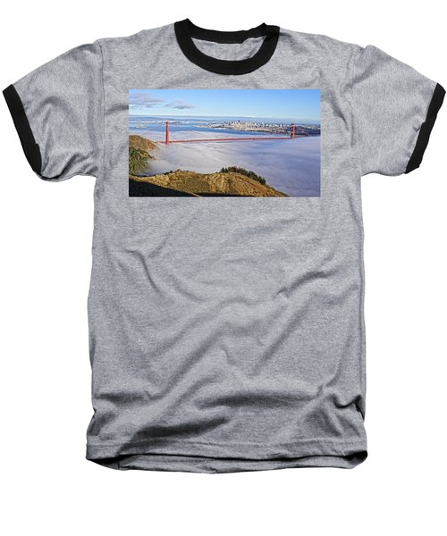 Golden Gate Baseball T-Shirt by Dave Files