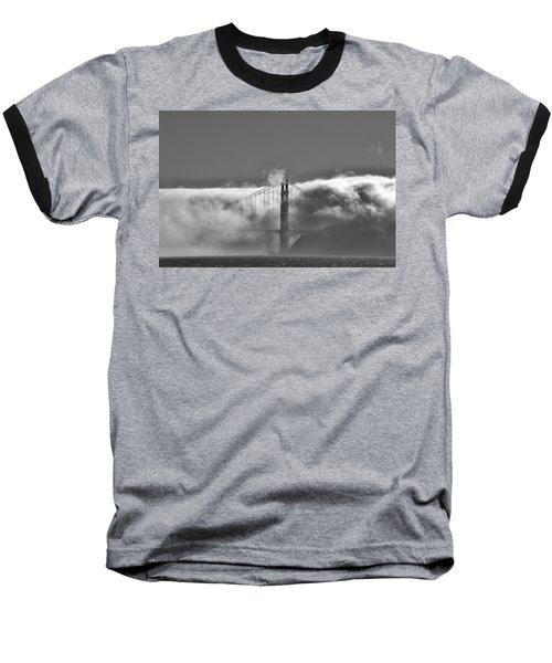 Golden Gate Fog Baseball T-Shirt