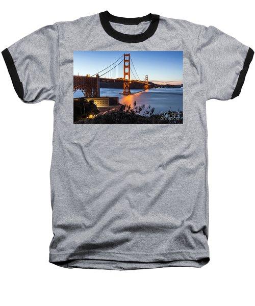 Golden Gate Night Baseball T-Shirt