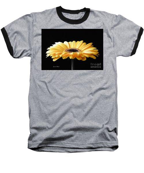 Golden Gerbera Daisy No 2 Baseball T-Shirt