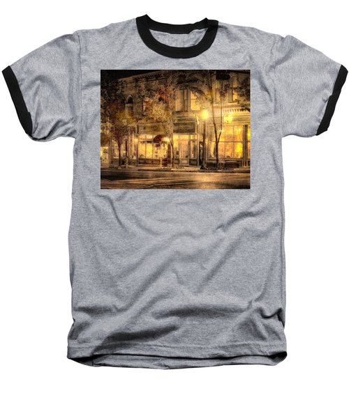 Golden Glow Baseball T-Shirt by William Beuther