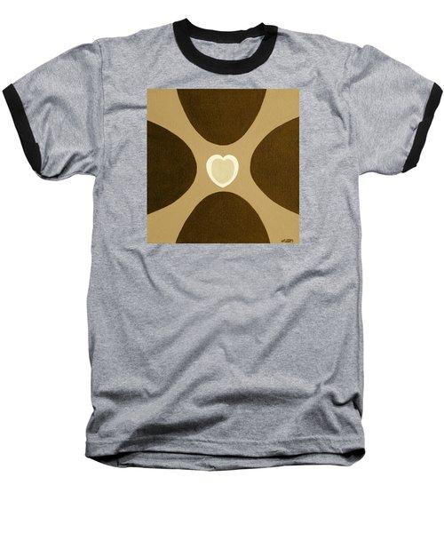 Golden Heart 3 Baseball T-Shirt