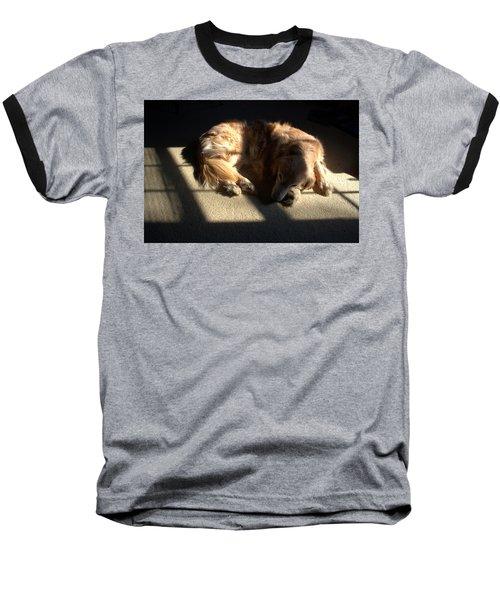 Golden In Sunlight Baseball T-Shirt