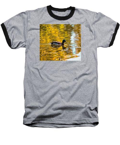 Baseball T-Shirt featuring the photograph Golden   Leif Sohlman by Leif Sohlman