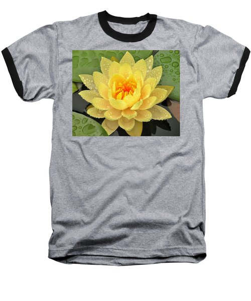 Golden Lily Baseball T-Shirt