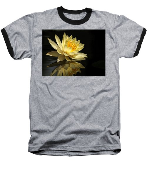 Golden Lotus Baseball T-Shirt