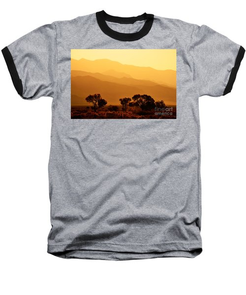 Golden Mountain Light Baseball T-Shirt