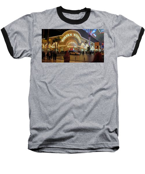 Golden Nugget Baseball T-Shirt by Kay Novy