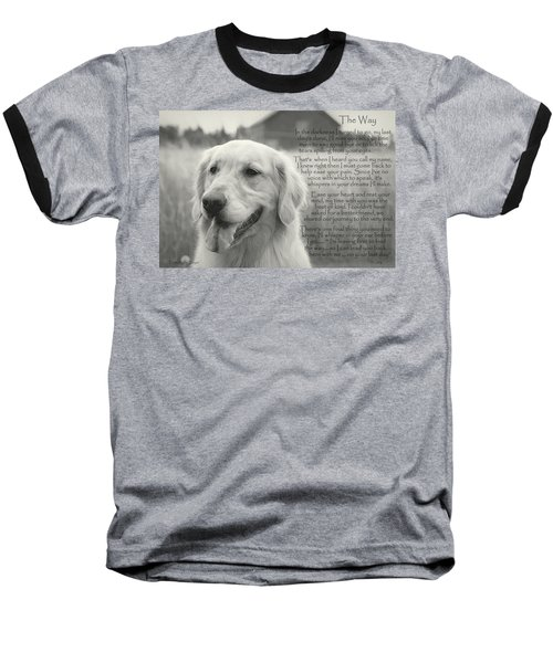 Golden Retriever The Way Baseball T-Shirt