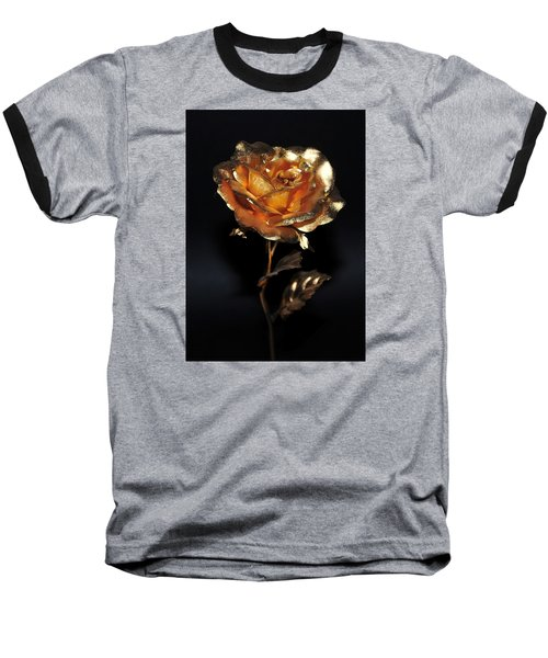 Golden Rose Baseball T-Shirt