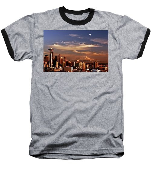 Golden Seattle Baseball T-Shirt