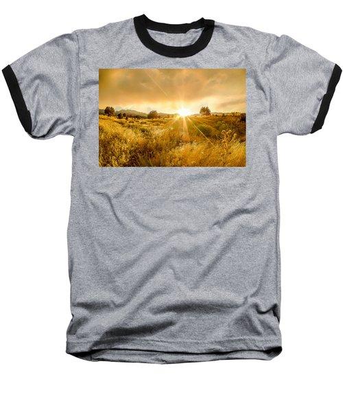 Golden Smoke Baseball T-Shirt