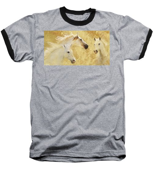 Golden Steeds Baseball T-Shirt