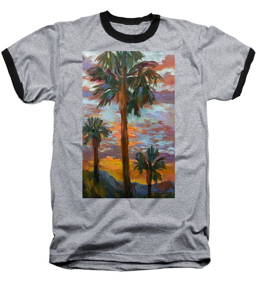 Golden Sunrise Baseball T-Shirt