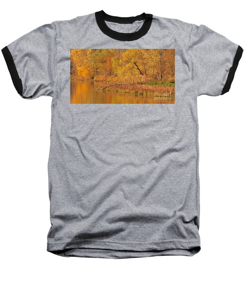 Golden Sunrise Baseball T-Shirt