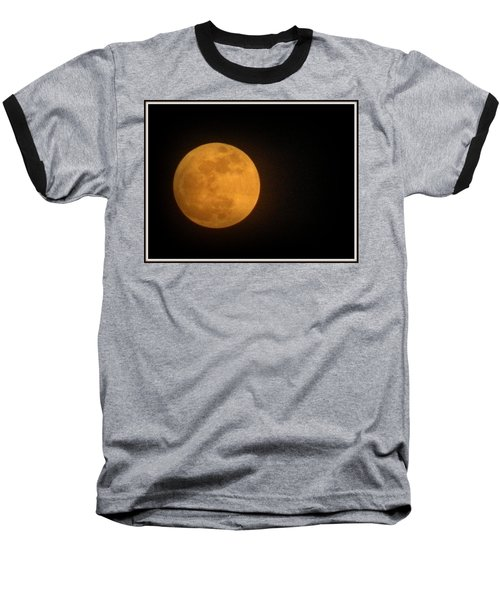 Golden Super Moon Baseball T-Shirt