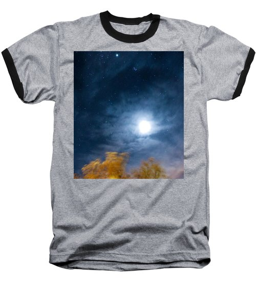 Baseball T-Shirt featuring the photograph Golden Tree  by Angela J Wright