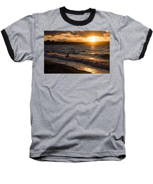 Golden Wings Golden Water Baseball T-Shirt