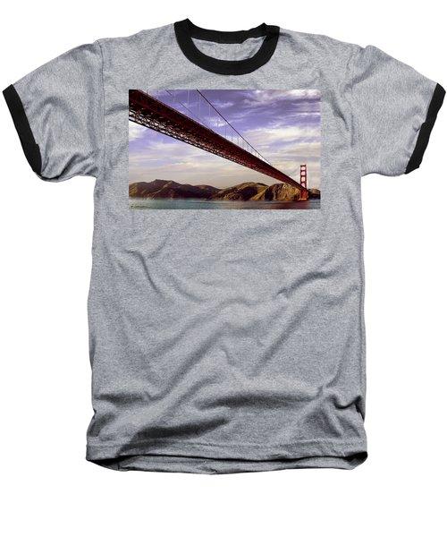 Goldengate Bridge San Francisco Baseball T-Shirt