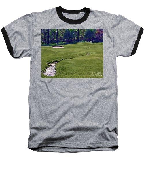 Golf Hazards Baseball T-Shirt
