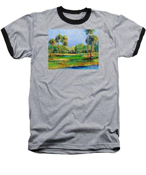 Golf In The Tropics Baseball T-Shirt