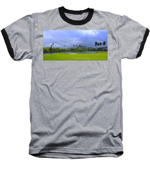 Golfer's Paradise Baseball T-Shirt