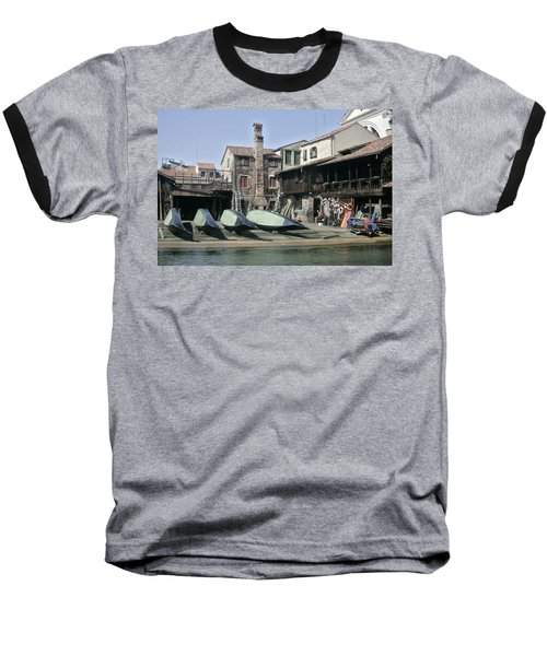 Gondola Showroom Baseball T-Shirt