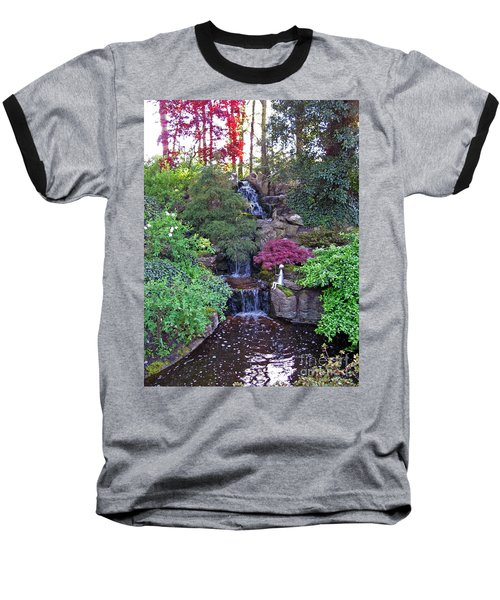 Baseball T-Shirt featuring the photograph Gone Fishing. Keukenhof Gardens. Holland by Ausra Huntington nee Paulauskaite