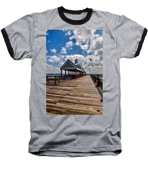 Baseball T-Shirt featuring the photograph Gone Fishing by Sennie Pierson