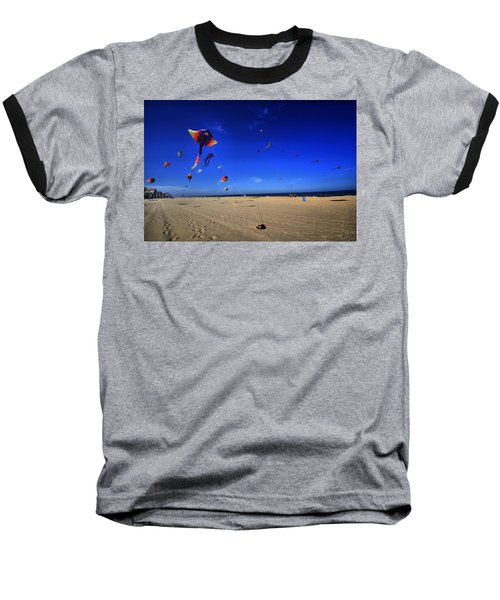 Gone Flyin Baseball T-Shirt by Robert McCubbin