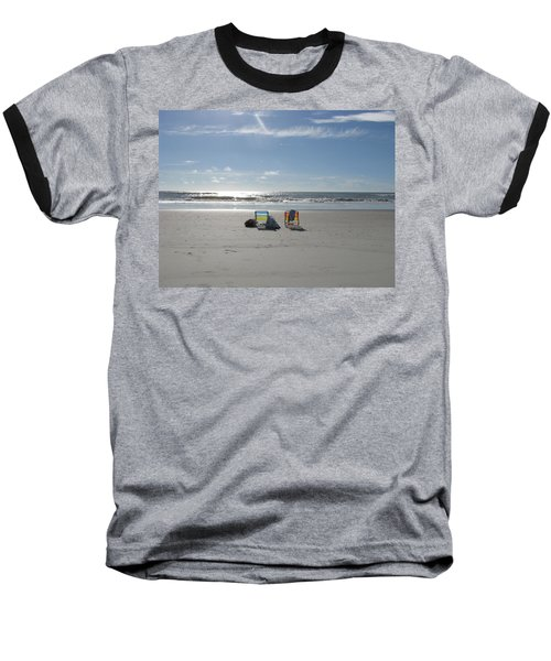 Gone For A Walk Baseball T-Shirt