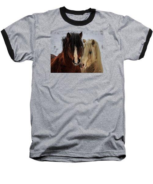 Good Friends Baseball T-Shirt by Everet Regal