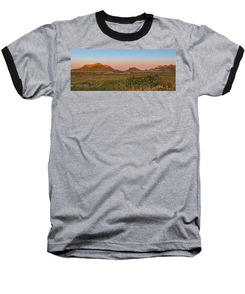 Baseball T-Shirt featuring the photograph Good Morning Badlands II by Patti Deters