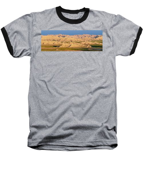 Baseball T-Shirt featuring the photograph Good Morning Badlands I by Patti Deters