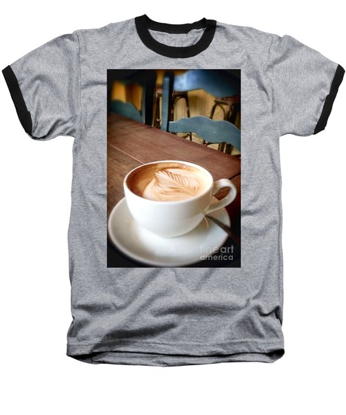 Good Morning Latte Baseball T-Shirt