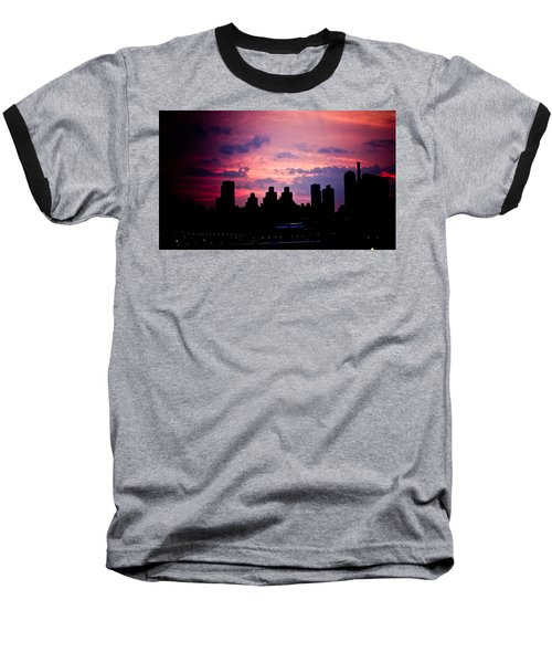 Baseball T-Shirt featuring the photograph Good Morning New York by Sara Frank