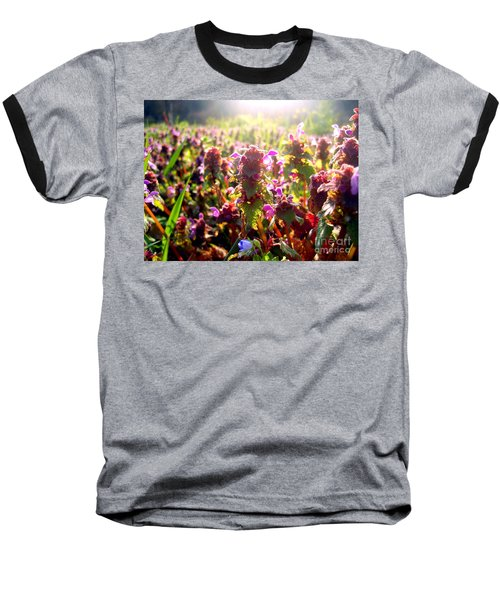 Baseball T-Shirt featuring the photograph Good Morning by Nina Ficur Feenan
