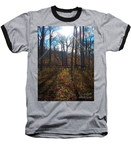 Baseball T-Shirt featuring the photograph Good Morning by Pamela Clements