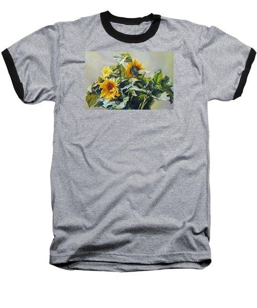 Good Morning - Sunflower In Love Baseball T-Shirt