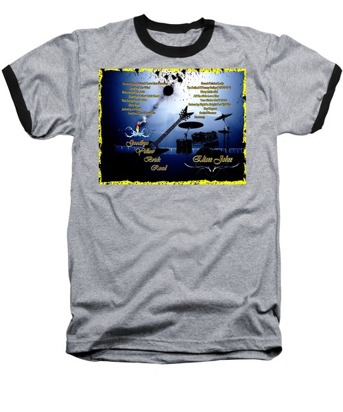 Goodbye Yellow Brick Road Baseball T-Shirt by Michael Damiani