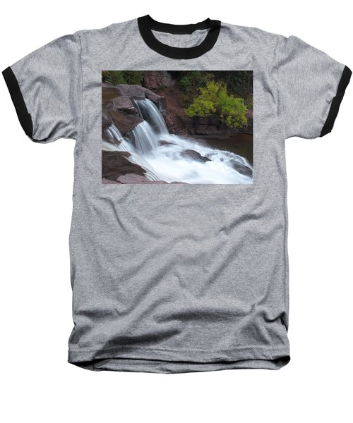 Baseball T-Shirt featuring the photograph Gooseberry Falls In Slow Motion by James Peterson