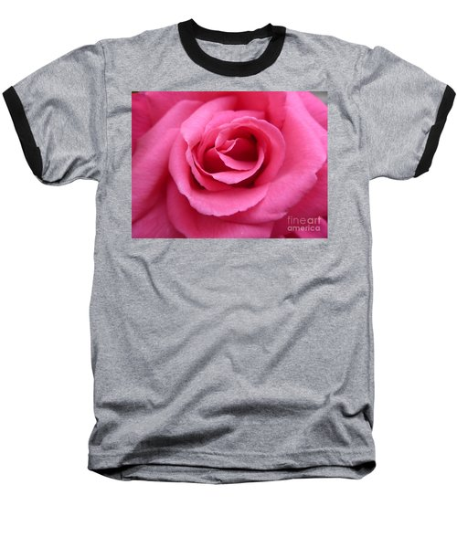 Baseball T-Shirt featuring the photograph Gorgeous Pink Rose by Vicki Spindler