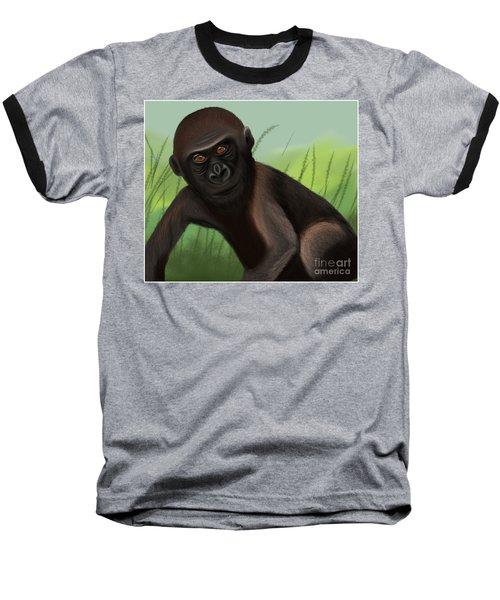 Gorilla Greatness Baseball T-Shirt