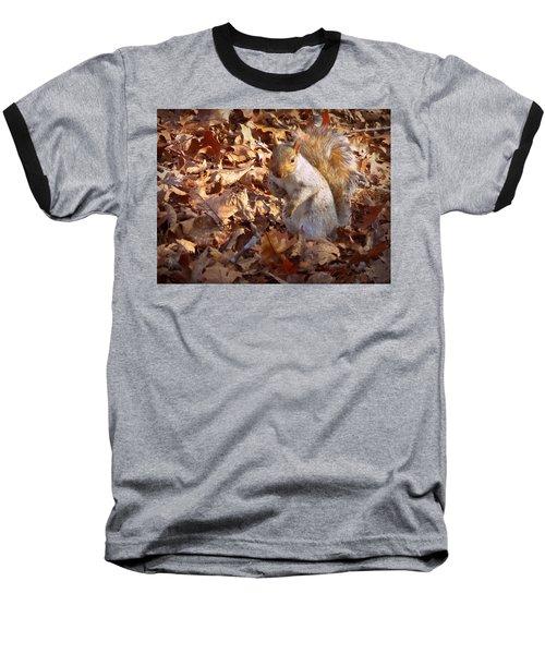 Got Nuts Baseball T-Shirt by Joseph Skompski