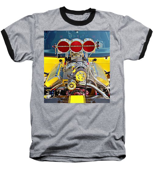 1000 Hp Pro Street Z28 Baseball T-Shirt by Aaron Berg