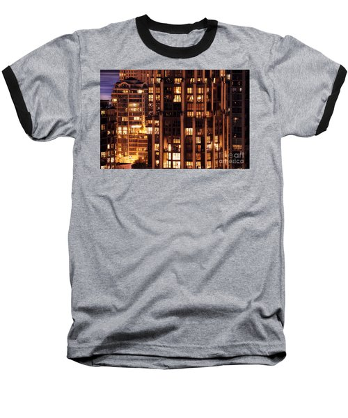 Baseball T-Shirt featuring the photograph Gothic Living - Yaletown Ccclxxx by Amyn Nasser