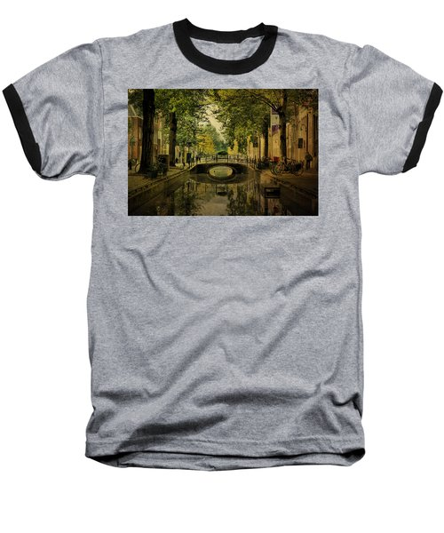 Gouda In Vintage Look Baseball T-Shirt