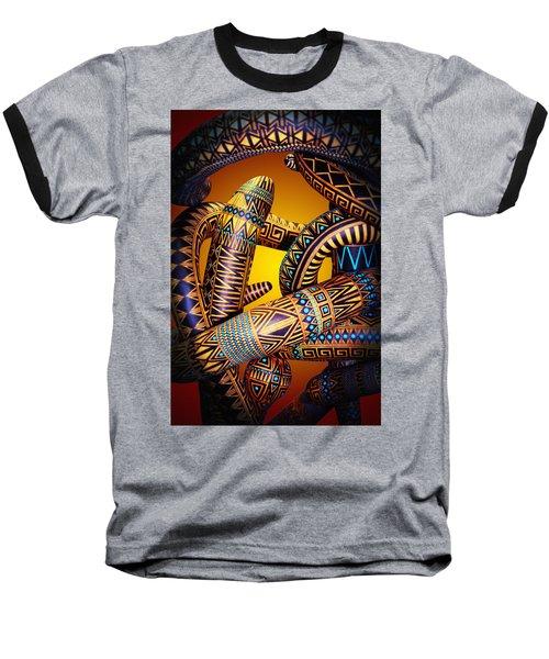 Gourd Snake Baseball T-Shirt