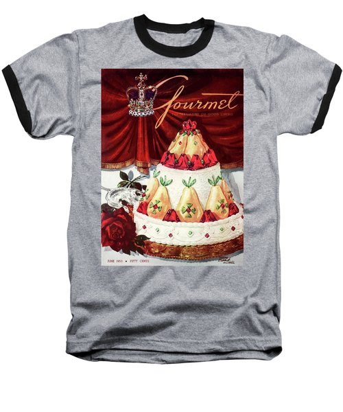 Gourmet Cover Featuring A Cake Baseball T-Shirt
