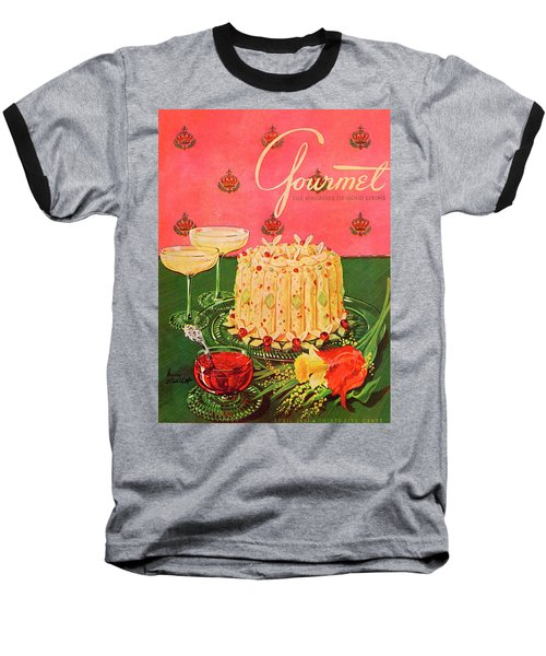Gourmet Cover Illustration Of A Molded Rice Baseball T-Shirt